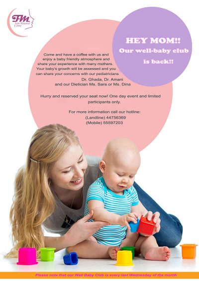 Feto Maternal Medical Centre Doha - Well Baby Club